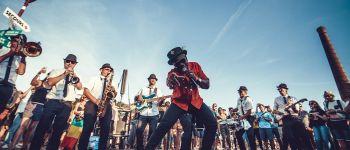 Ensemble national de reggae, fanfare reggae en déambulation La Faute-sur-Mer