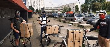 Livraison à vélo Nantes