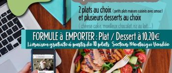 Le Patati Patata en drive, midi et petit goûter sans réservation Montaigu-Vendée