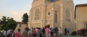 Soirée estivale, visite commentée de Vendée Vitrail et de l\exposition de Franck David Mortagne-sur-Sèvre