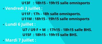 Séances découvertes basket Boufféré Montaigu-Vendée