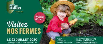 Visite de ferme, exploitation maraîchère en agriculture bio Les Herbiers
