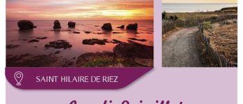 Crépuscule sur la corniche Vendéenne Saint-Hilaire-de-Riez