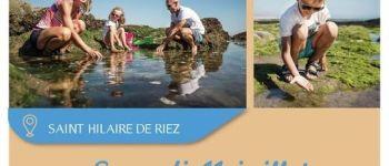 Pêche à pied Saint-Hilaire-de-Riez