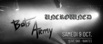 Bats Army & Uncrowned en concert au Live Bar Nantes